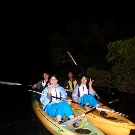 夜の比謝川