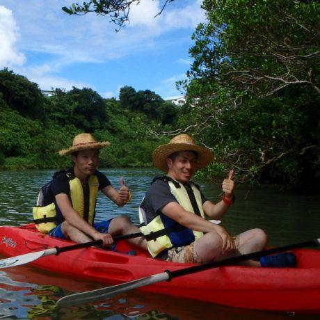 川を楽しむ