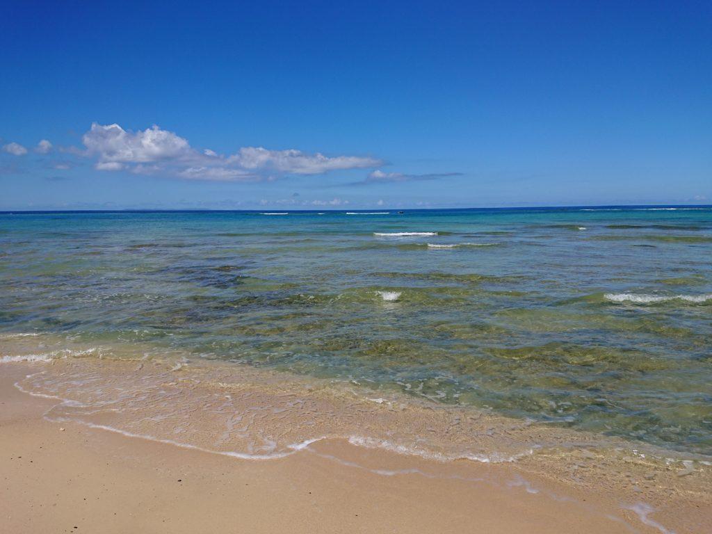 北谷町の海