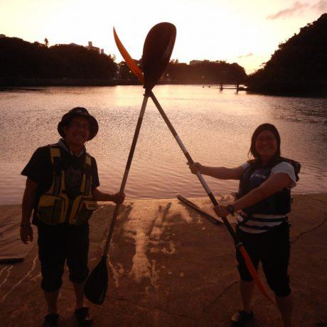 夫婦で沖縄旅行