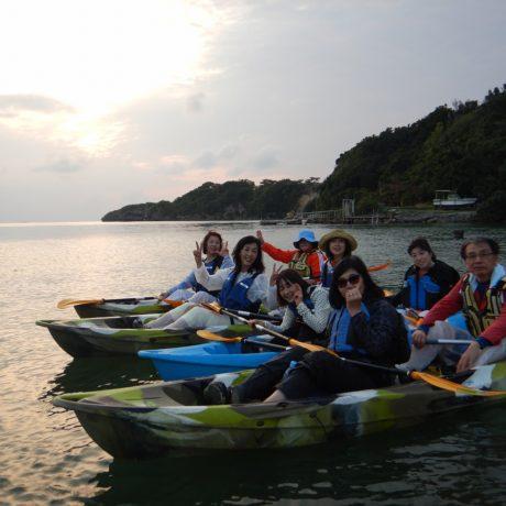 友達と沖縄旅行