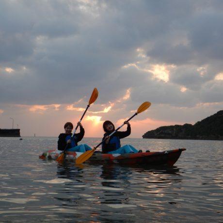 沖縄女子旅カヤック
