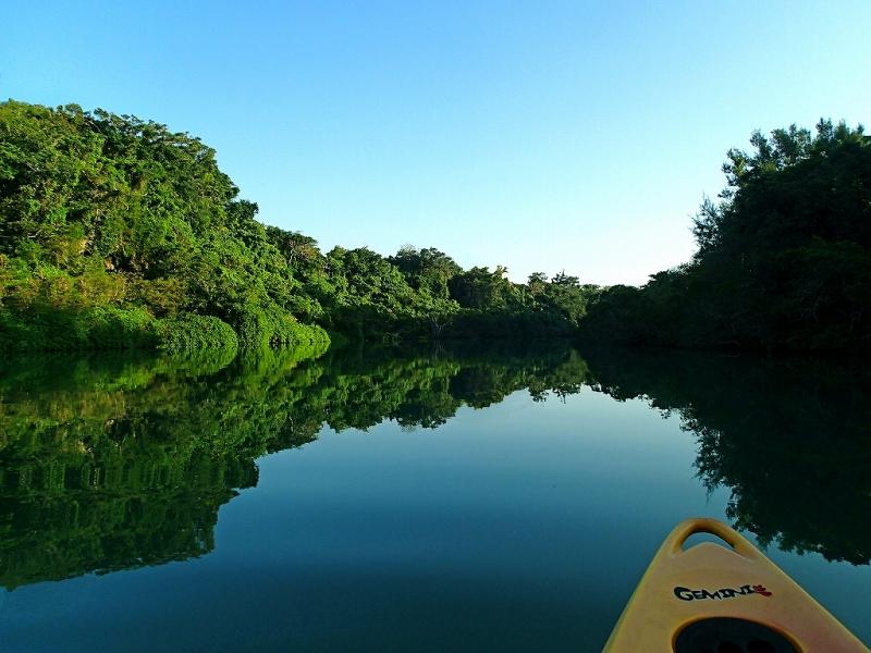 静かな比謝川