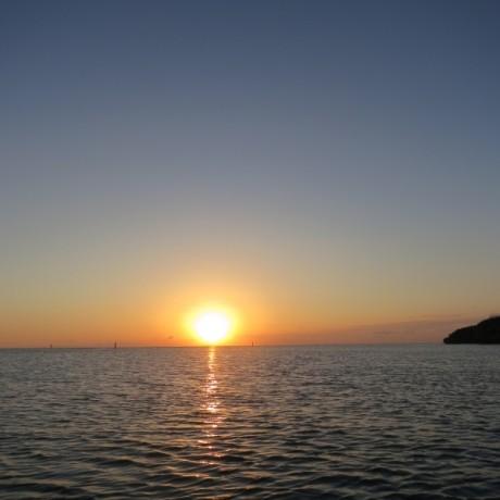 夕日クライマックス