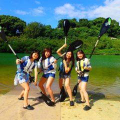 沖縄カヤック3月の服装